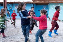 Kindergruppe beim Spiel