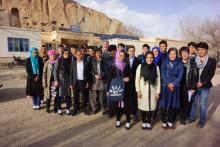 Studenten in Afghanistan