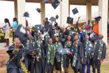Studenten in Malawi