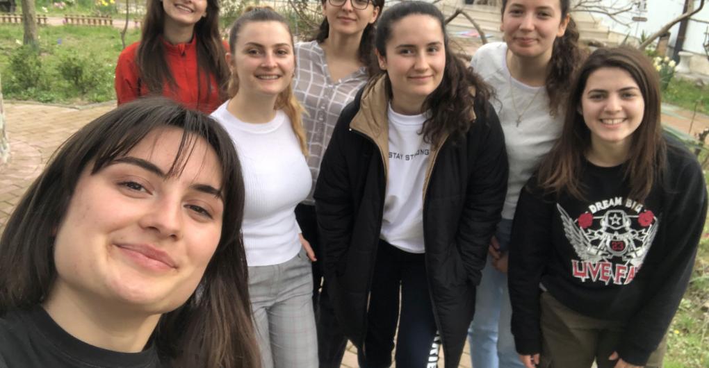 Jugendgruppe in Albanien