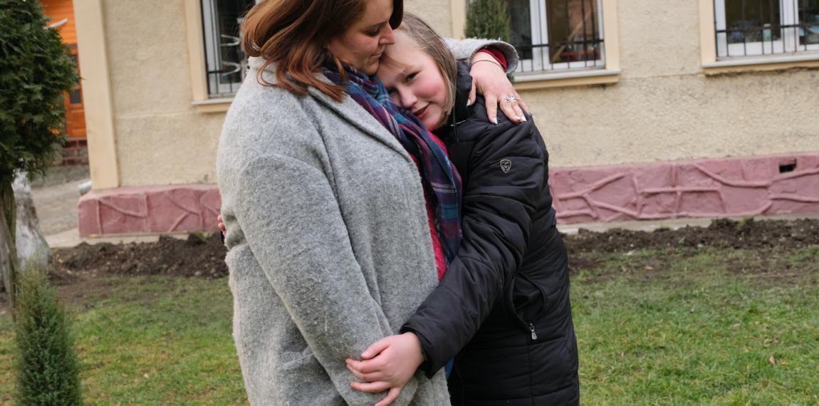 Die Kinder brauchen Liebe, Fürsorge und Unterstützung
