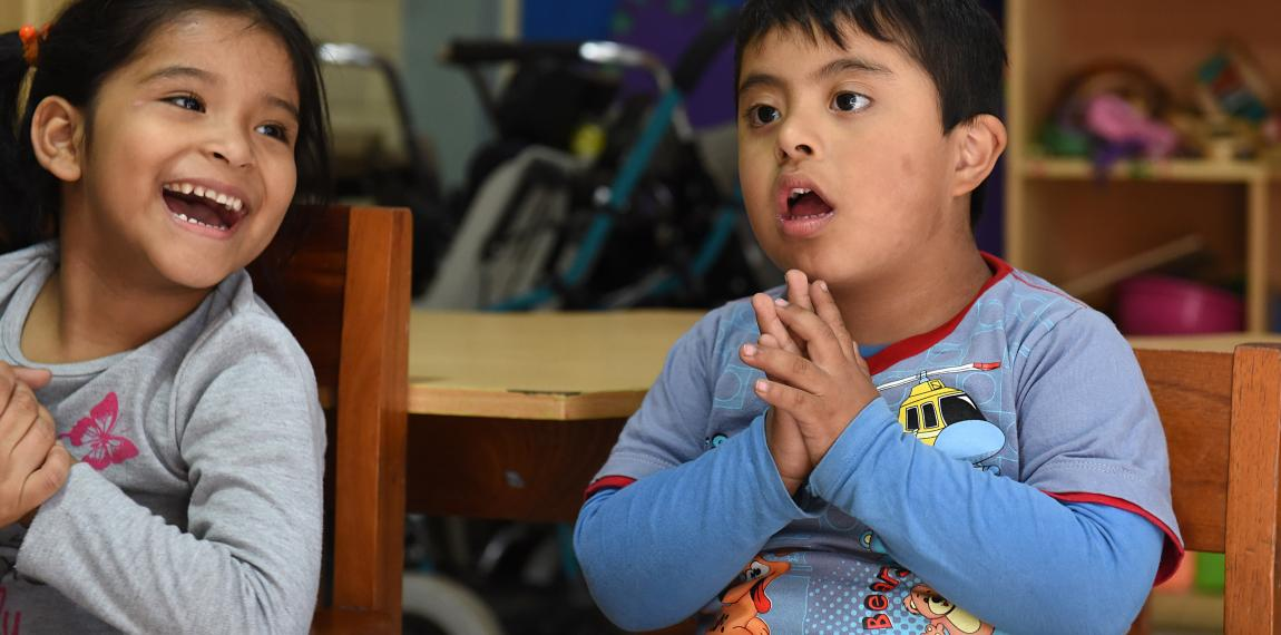 "Kinder im Zentrum ""Yancana Huasy""  in Lima"
